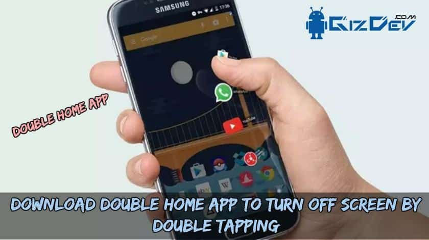 Download Double Home App To Turn Off Screen By Double Tapping - Download Double Home App To Turn Off Screen By Double Tapping