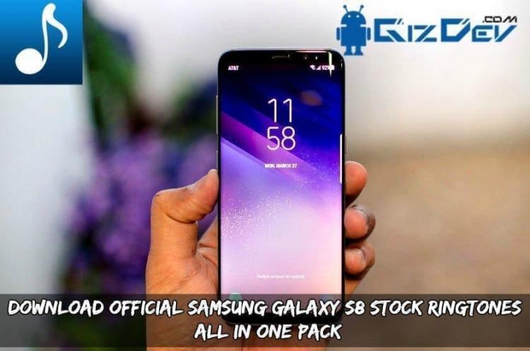 Download Official Samsung Galaxy S8 Ringtones