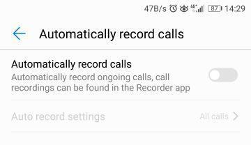 Enable Call Recording On EMUI 5 4