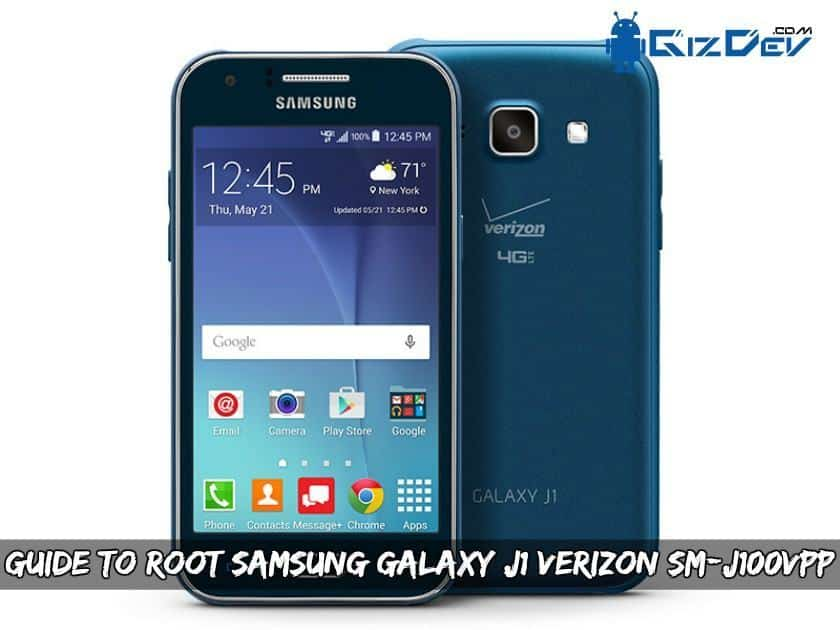 Guide To Root Samsung Galaxy J1 Verizon SM-J100VPP