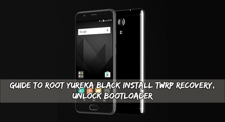 Root Yureka Black Install TWRP Recovery, Unlock Bootloader