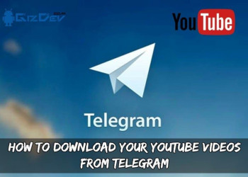 How To Download Your YouTube Videos From Telegram