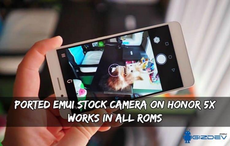 EMUI Stock Camera On Honor 5X 750x478