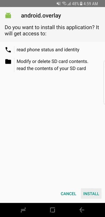 Galaxy S8 Dark the me 1 1 - Install SystemWide Dark Theme For Samsung Galaxy S8 (without Root)