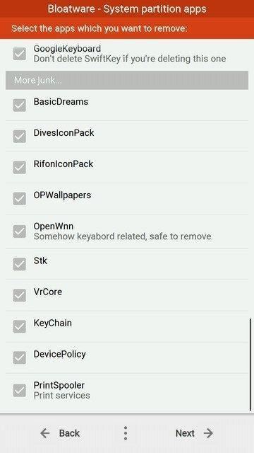 OnePlus 5 Remove Bloatware 4