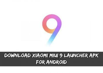 MIUI 9 Launcher