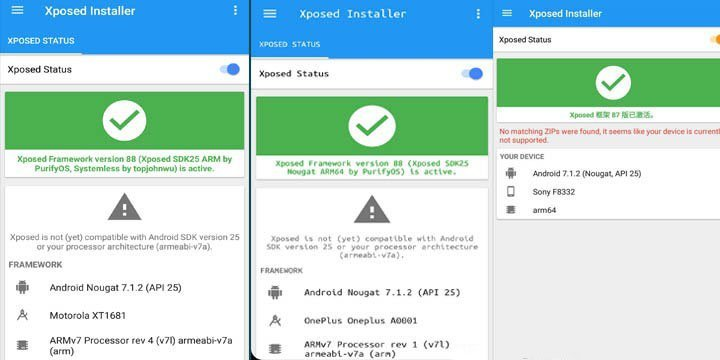 Xposed Framework On Nougat - Guide To Install Xposed Framework On Android 7.0.X Nougat