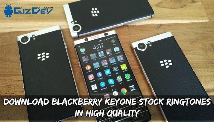 Download Blackberry Keyone Stock Ringtones