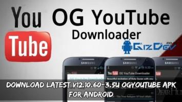 Download Latest v12.10.60-3.5U OGYoutube APK