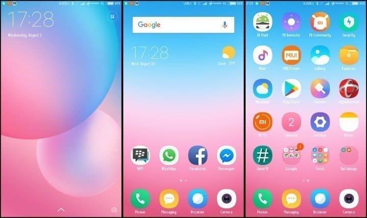MIUI 9 Xiaomi Theme 1