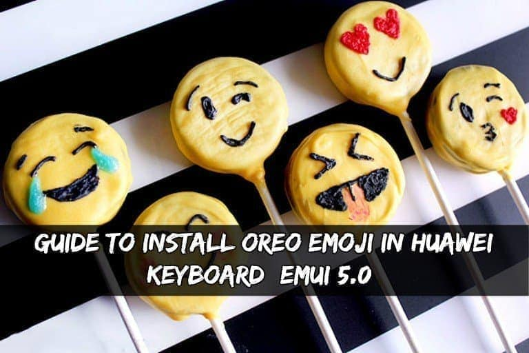 Oreo Emoji In Huawei Keyboard