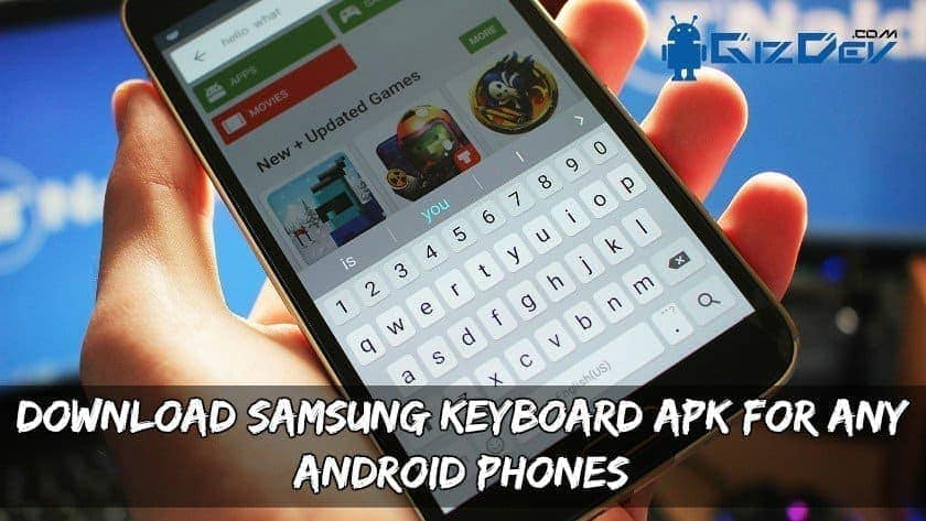 Samsung Keyboard APK For Any Android Phones