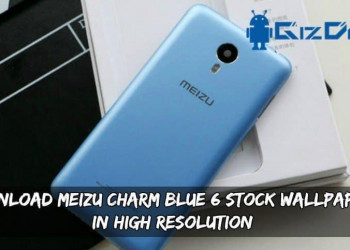Download Meizu Charm Blue 6 Stock Wallpapers In High Resolution