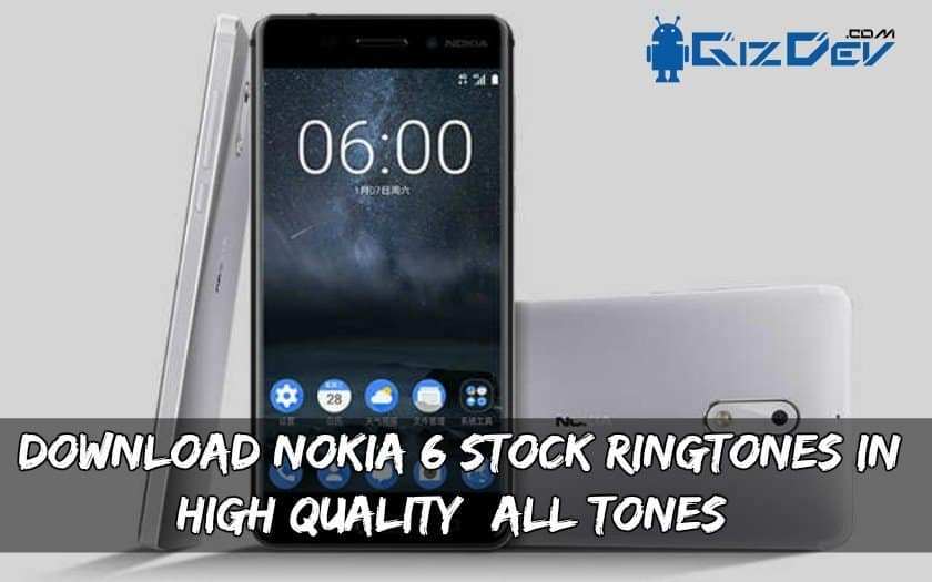Nokia 6 Stock Ringtone