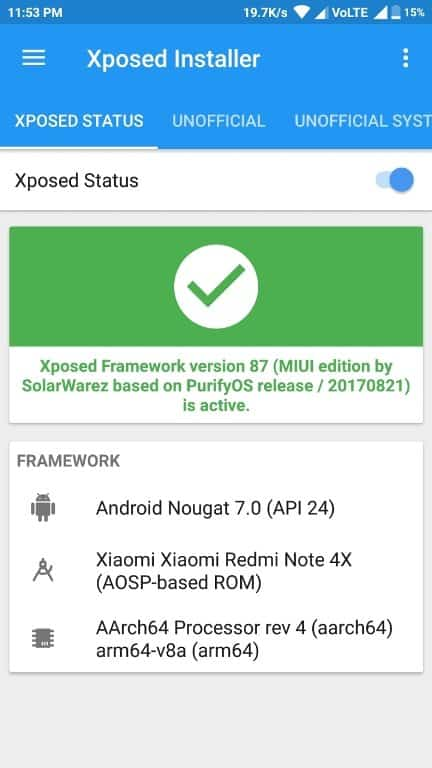 Xposed Framework MIUI 9 - Download and Install Xposed Framework For MIUI 9