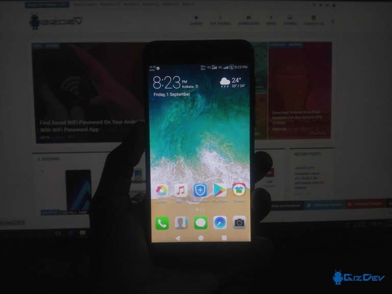 Download iOS 11 Theme For Huawei And Honor Devices