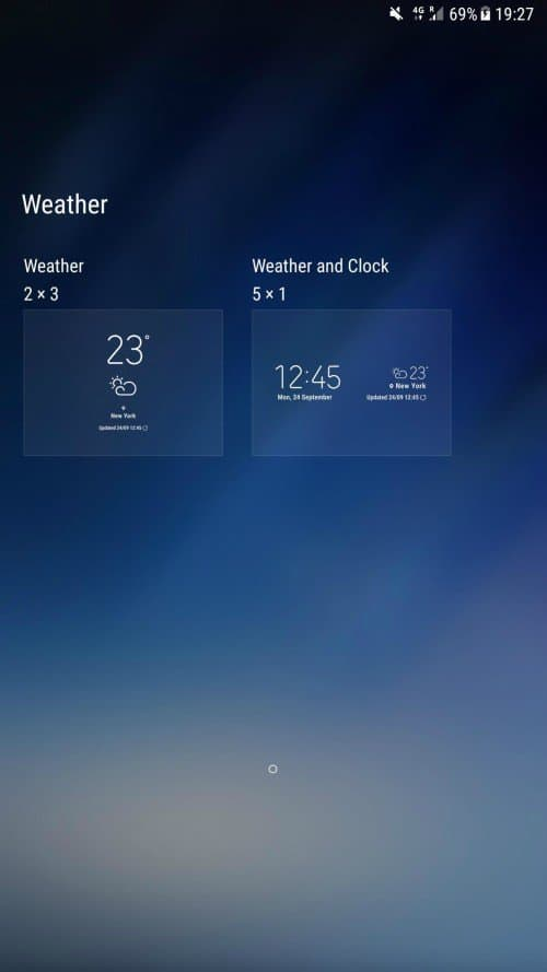 Galaxy S8 Weather App 3 - Download Galaxy S8 Weather APP For Samsung Devices (Flashable ZIP)