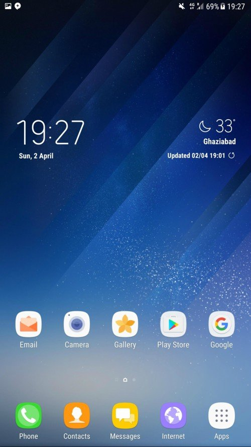 Galaxy S8 Weather App 4 - Download Galaxy S8 Weather APP For Samsung Devices (Flashable ZIP)