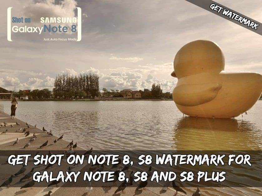 Get Shot On Note 8 S8 Watermark For Galaxy Note 8 S8 and S8 Plus - Get Shot On Camera Watermark For Galaxy Note 8, S8 and S8 Plus