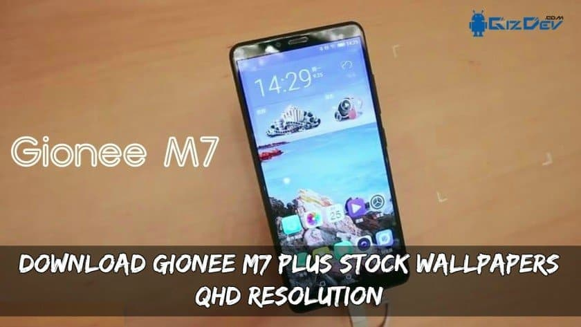 Gionee M7 Stock Wallpapers