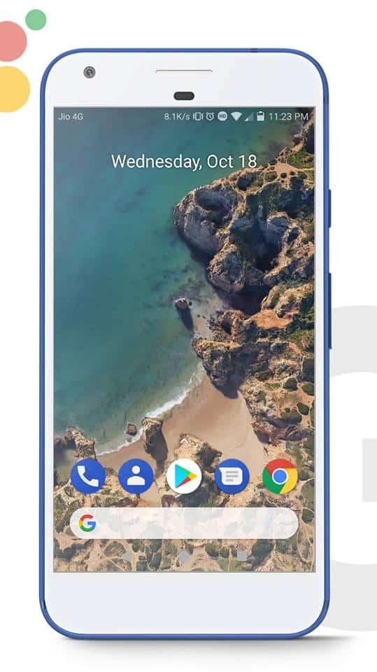 Google Pixel 2 EMUI Theme 1 - Download Google Pixel 2 Theme For EMUI 5.0 Devices