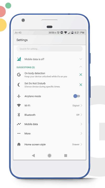 Google Pixel 2 EMUI Theme 2 - Download Google Pixel 2 Theme For EMUI 5.0 Devices