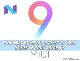 Download MIUI 9 Ringtones