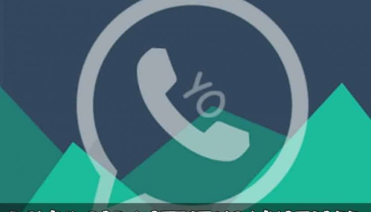 Download Latest Yo WhatsApp 6.90 MOD APK For Android
