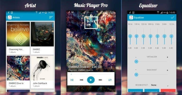 Music Player Pro - Top 10 Music Players For Android Device's Best Of 2017