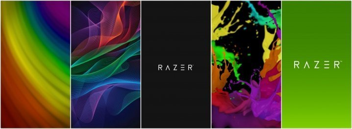 Razer Phone Stock Walls