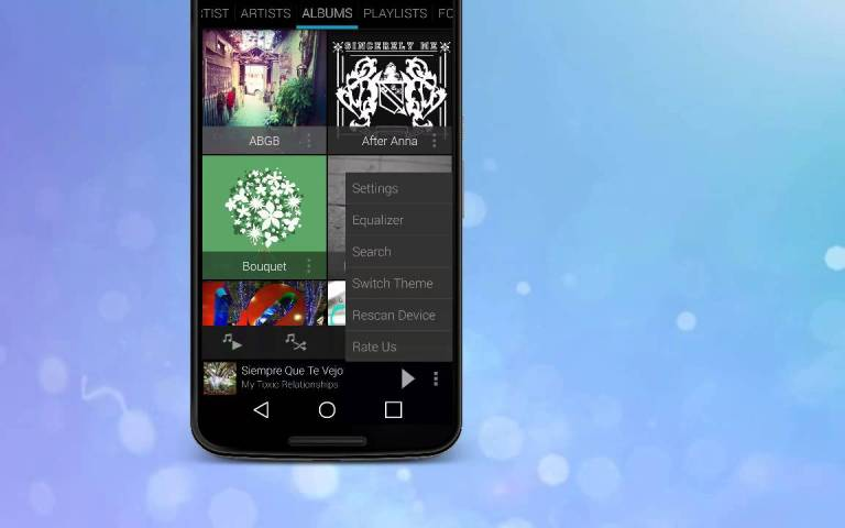 Rocket Player Music Player - Top 10 Music Players For Android Device's Best Of 2017