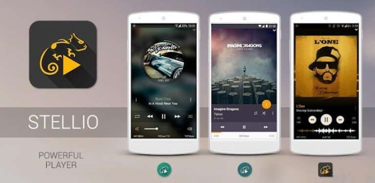 Stellio Music Player - Top 10 Music Players For Android Device's Best Of 2017