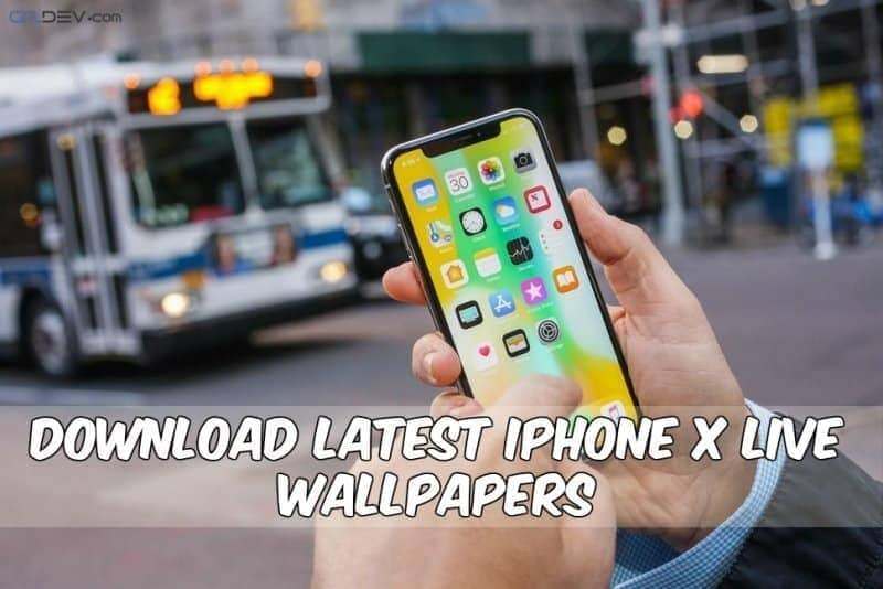 Latest iPhone X Live Wallpapers