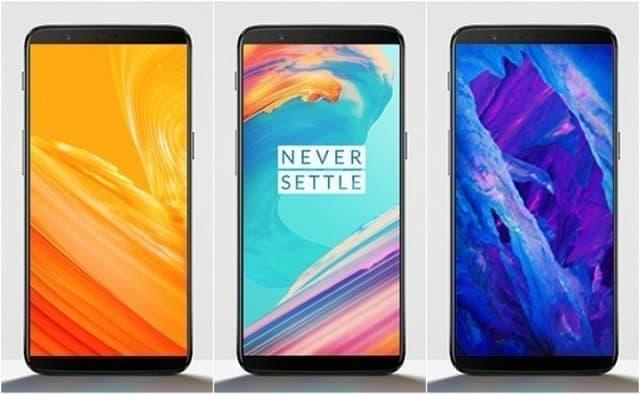 screens One Plus 5T (1)