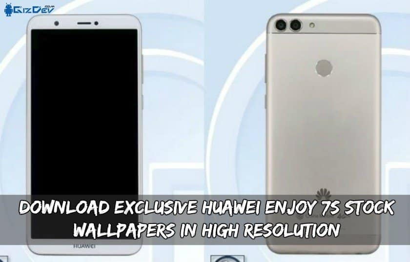 Download Exclusive Huawei Enjoy 7S Stock Wallpapers In High Resolution