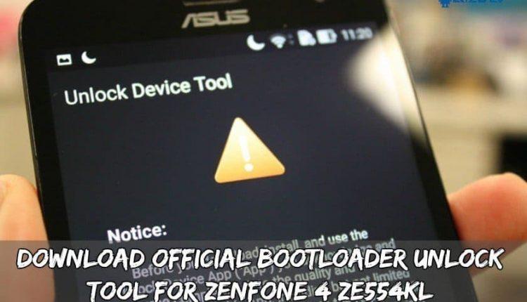 Download Official Bootloader Unlock Tool For Zenfone 4 ZE554KL