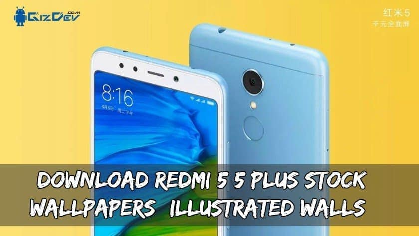 Download Redmi 5/5 Plus Stock Wallpapers (Illustrated Walls)