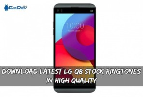 Download Latest LG Q8 Stock Ringtones In High Quality