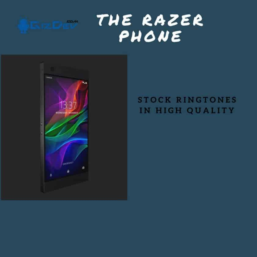 RAZER Phone Stock Ringtones
