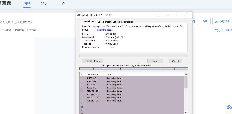 download files from Pan.baidu .com 2
