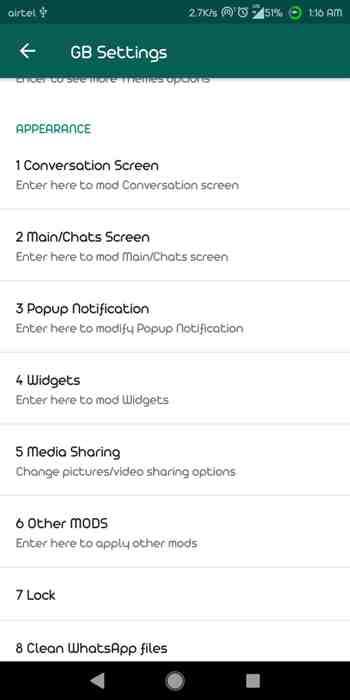 Gb WhatsApp 6.50 ss 6