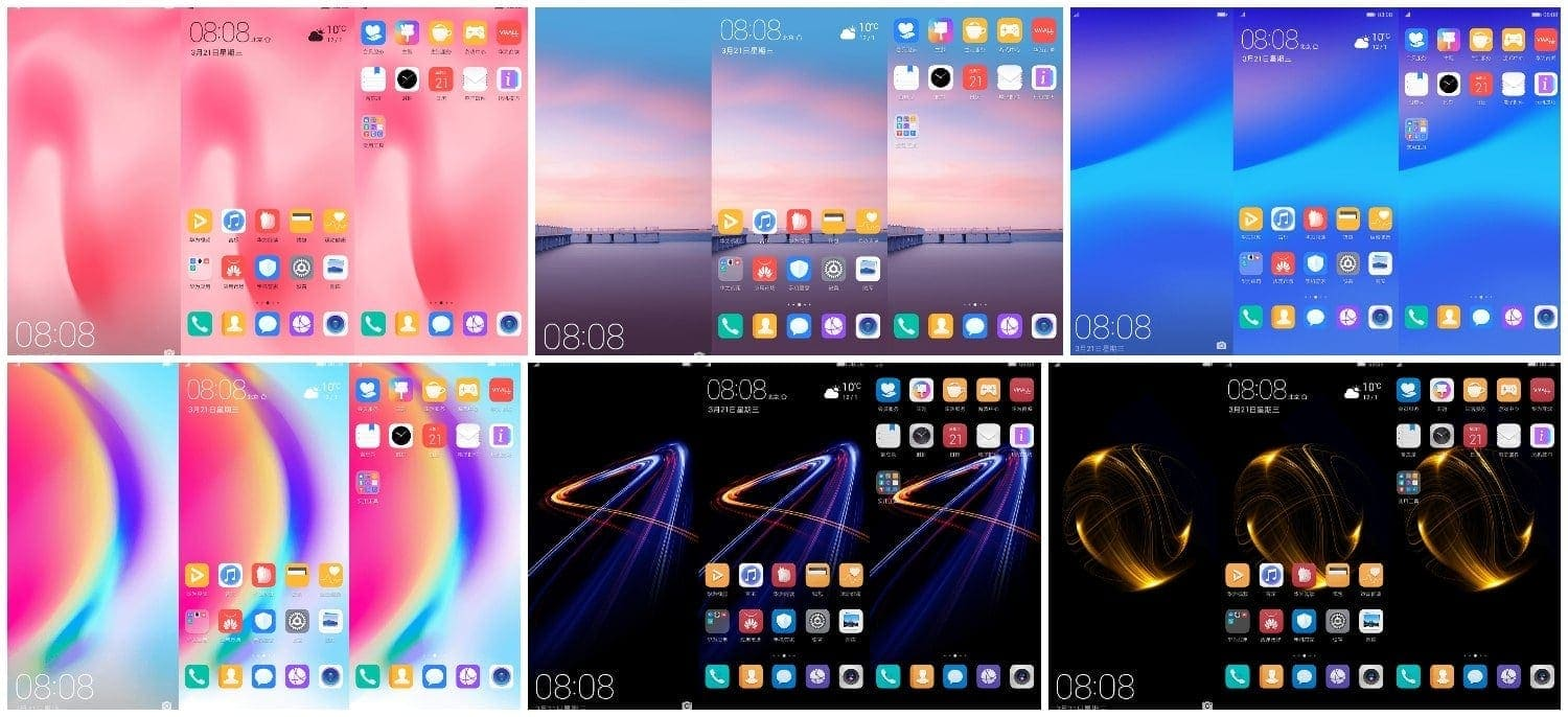 Download Huawei P20 Lite Stock Themes For EMUI Running Devices