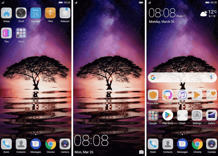 Huawei P20 Stock Themes 3 - Download Huawei P20 Stock Themes For EMUI Devices
