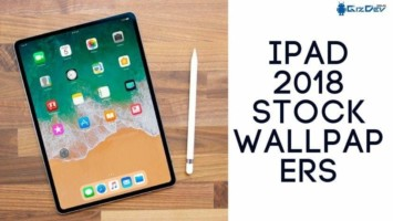 IPad 2018 Stock Wallpapers