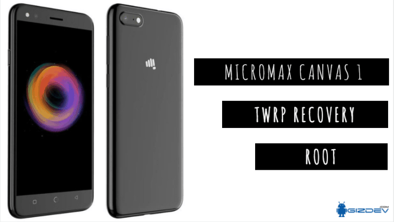 Install TWRP Recovery And Root Micromax Canvas 1