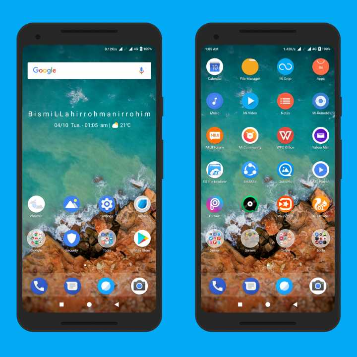 Android P Theme Walls 1