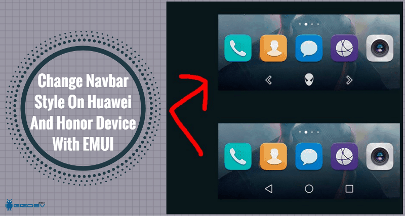 Change Navbar Style On Huawei And Honor Device With EMUI