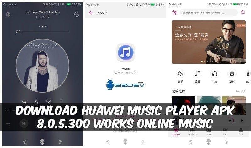 Huawei Music Player Apk