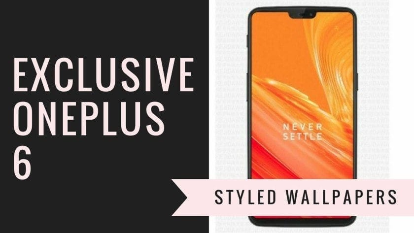 OnePlus 6 Styled Wallpapers - Download Exclusive OnePlus 6 Stock Wallpapers (Styled)