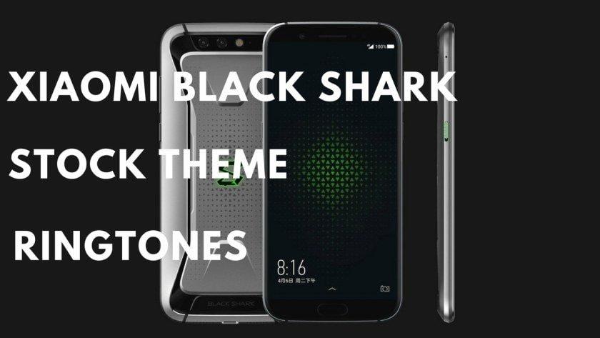 Xiaomi Black Shark Theme Ringtones